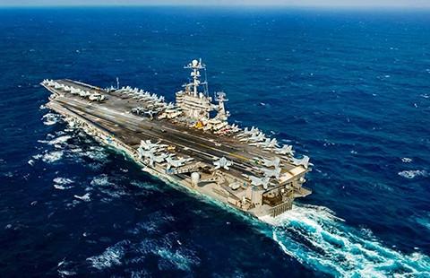 Mỹ triển khai tàu sân bay tuần tra biển Đông - ảnh 1
