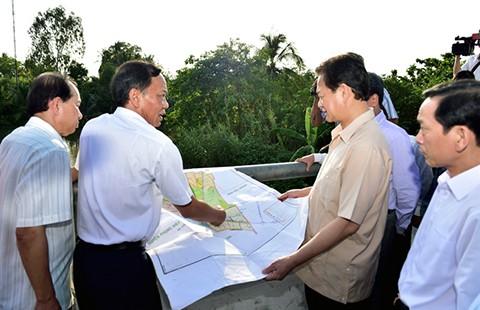 Thủ tướng: Khoanh nợ ngay cho dân bị thiệt hại do xâm nhập mặn - ảnh 1