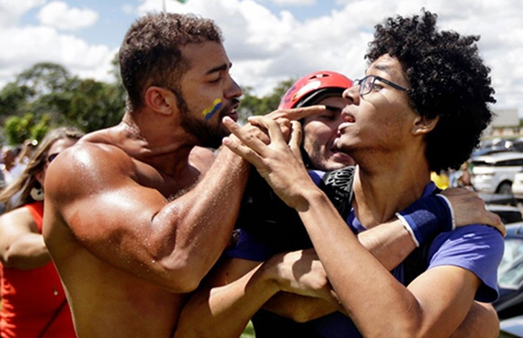 Hạ viện Brazil xúc tiến luận tội tổng thống - ảnh 1
