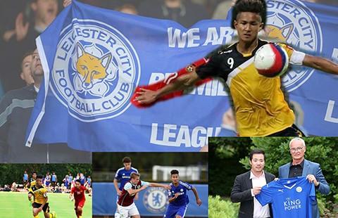 Cầu thủ Brunei gia nhập CLB Leicester City - ảnh 1