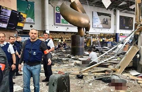 Đánh bom tại Bỉ: 34 người chết - ảnh 1