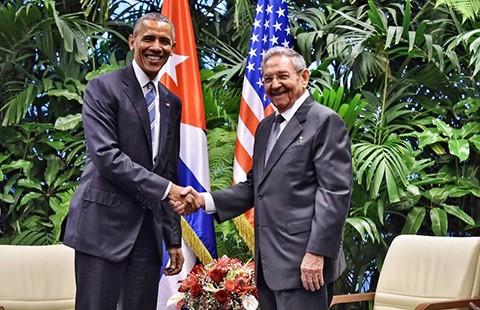 Tổng thống Obama mong muốn Quốc hội Mỹ dỡ bỏ cấm vận Cuba - ảnh 1
