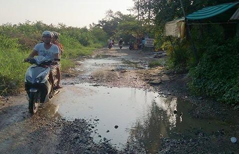Khu Nam TP.HCM: Dân 'ôm đất ngồi khóc!' - ảnh 1