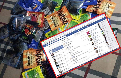 Cỏ Mỹ bán tràn lan trên mạng - ảnh 1