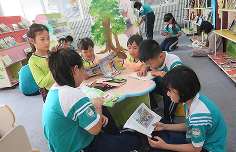 Tiết học đặc biệt tại Trường Tiểu học Nguyễn Văn Trỗi - ảnh 1