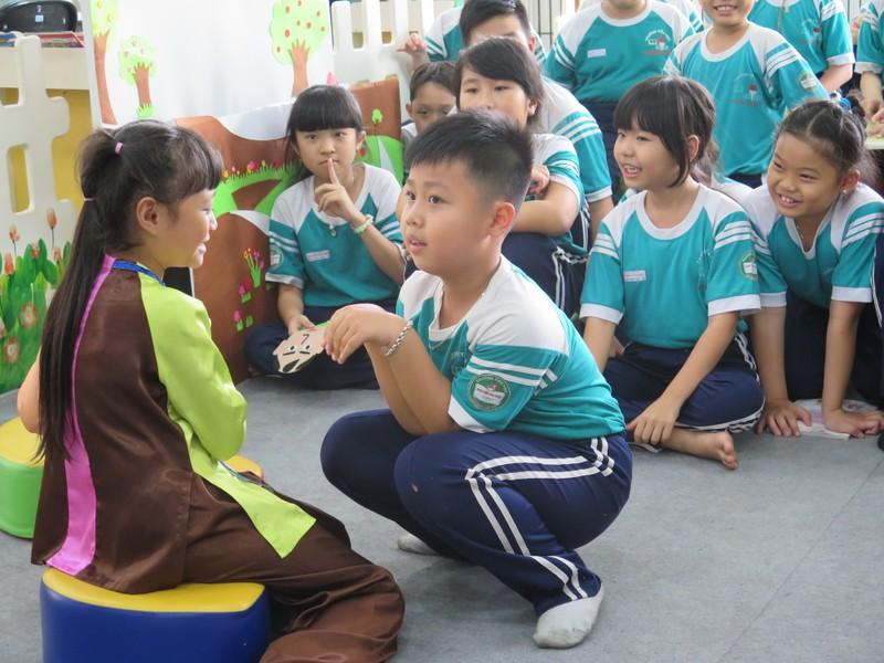 Tiết học đặc biệt tại Trường Tiểu học Nguyễn Văn Trỗi - ảnh 3