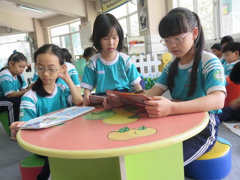 Tiết học đặc biệt tại Trường Tiểu học Nguyễn Văn Trỗi - ảnh 2