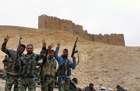 Quân đội Syria tái chiếm Palmyra sau 20 ngày chiến dịch - ảnh 1