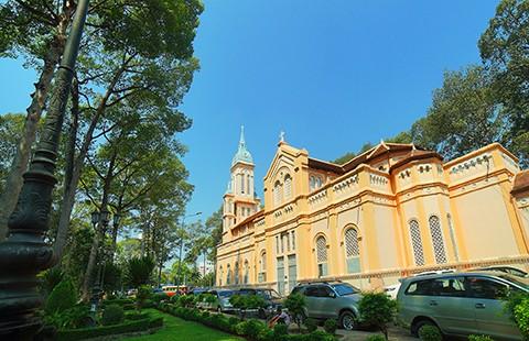 Nhà thờ cổ Sài Gòn - Bài 4: Ngôi nhà thờ nằm trên 'đất vàng' - ảnh 11
