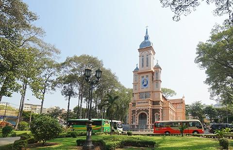 Nhà thờ cổ Sài Gòn - Bài 4: Ngôi nhà thờ nằm trên 'đất vàng' - ảnh 1