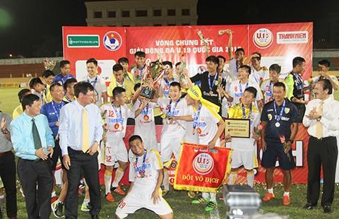 Hà Nội T&T vô địch giải U-19 quốc gia - ảnh 1