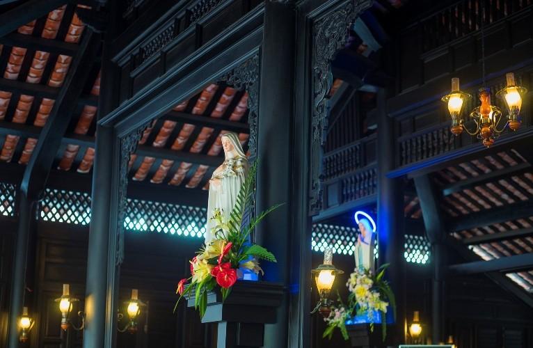 Nhà thờ cổ Sài Gòn - Bài 5: Ngôi nhà nguyện theo kiểu nhà rường hơn 200 năm  - ảnh 8