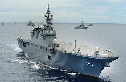 Tàu sân bay trực thăng Nhật sẽ đến Philippines - ảnh 1