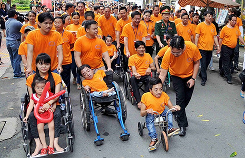 Vận động người dân Mỹ ủng hộ nạn nhân da cam Việt Nam - ảnh 1