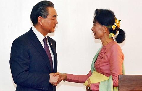 Trung Quốc tạo ảnh hưởng với Myanmar - ảnh 1