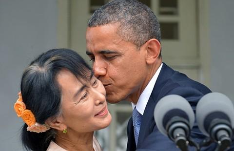 Mỹ-Trung chạy đua gây ảnh hưởng tại Myanmar - ảnh 2