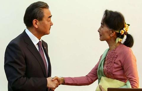 Mỹ-Trung chạy đua gây ảnh hưởng tại Myanmar - ảnh 1