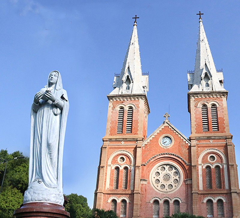 Nhà thờ cổ Sài Gòn - Bài 6: Phục hồi vẻ đẹp nguyên sơ nhà thờ Đức Bà - ảnh 1