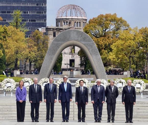 G7 phản đối quân sự hóa biển Đông - ảnh 1