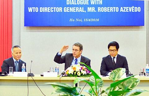 Tổng giám đốc WTO nói gì với doanh nghiệp Việt Nam ?  - ảnh 1