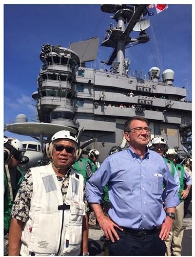 Thế trận mới Mỹ-Trung ở biển Đông - ảnh 1