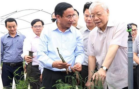 Tổng Bí thư Nguyễn Phú Trọng: Ngày càng có nhiều miền quê đáng sống - ảnh 1