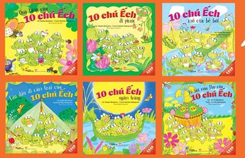 10 chú ếch ehon Nhật Bản đã đến Việt Nam - ảnh 1