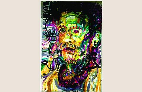 Triển lãm tranh kích cỡ khủng 'Phi lập thể' - ảnh 1