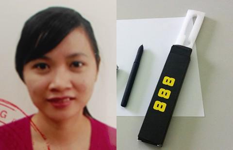 Nữ kế toán lập bảng lương bằng bút 'phù thủy' - ảnh 1