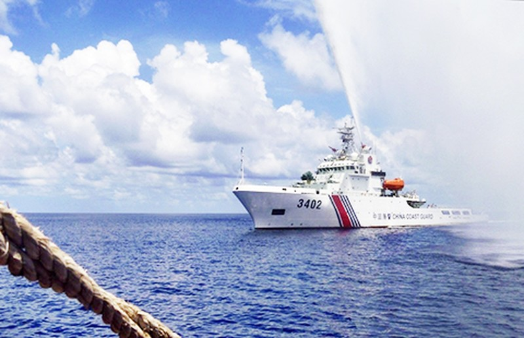 Mỹ hủy tuần tra hàng hải ở biển Đông - ảnh 1
