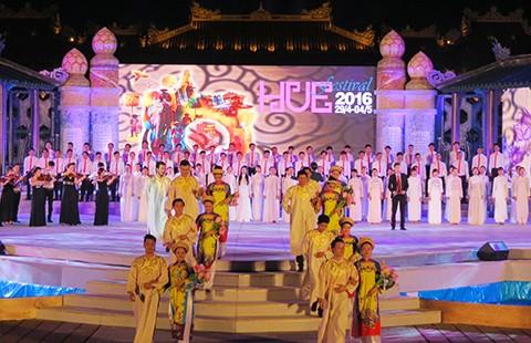Khai mạc Festival Huế lần thứ 9 - ảnh 1