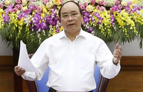 Thủ tướng Nguyễn Xuân Phúc: Xây dựng một chính phủ 'kiến tạo, phục vụ' - ảnh 1