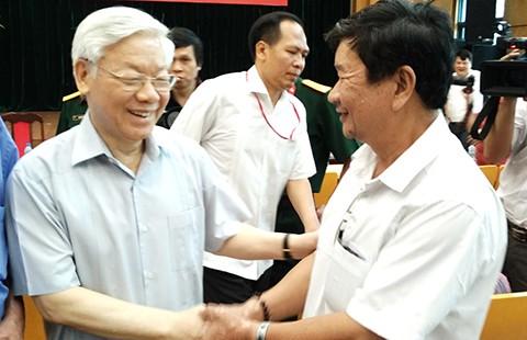 Tổng Bí thư Nguyễn Phú Trọng: Phải chống cho được tham nhũng! - ảnh 1
