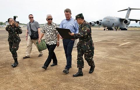Thỏa thuận Mỹ-Philippines về đâu? - ảnh 1