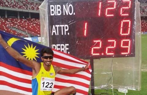 Malaysia hy vọng có huy chương nhảy cao Olympic - ảnh 1