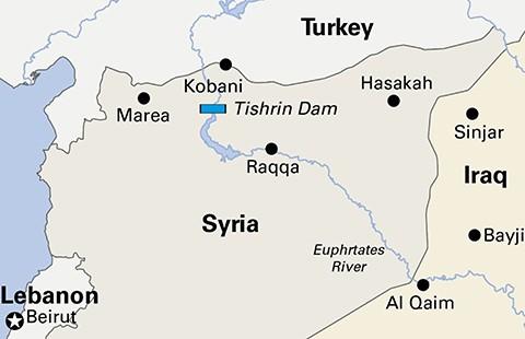 Bắt đầu chiến dịch tấn công đầu não IS ở Syria - ảnh 1