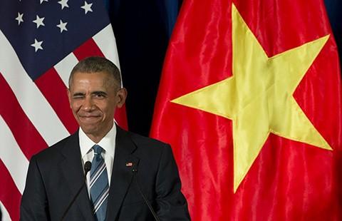 Bật mí công nghệ giúp Tổng thống Obama ghi điểm ở Việt Nam - ảnh 1