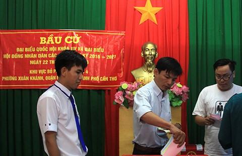 Cần Thơ ráo riết tổ chức bầu cử thêm vào ngày 29-5  - ảnh 1