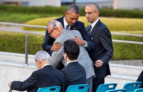 Obama đối diện lịch sử tại Hiroshima  - ảnh 1