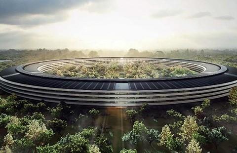 Trụ sở '5 tỉ đô' tuyệt đẹp của Apple - ảnh 1