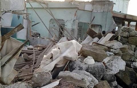 Nổ lớn ở đảo Phú Quý: 50 căn nhà bị ảnh hưởng - ảnh 1