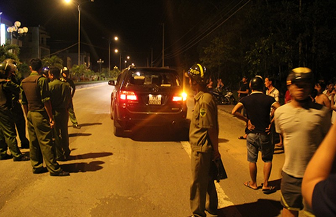 40 giang hồ Bình Định ra Quảng Ngãi nổ súng  - ảnh 1