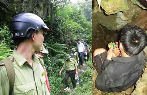 Khó cứu ba phu vàng bị kẹt dưới hang sâu 400 m - ảnh 1