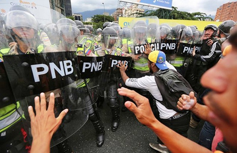 Phe đối lập Venezuela đang thắng thế  - ảnh 1