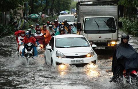 Chống ngập cấp bách cho sân bay Tân Sơn Nhất - ảnh 1