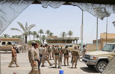Quân đội Iraq chiếm bộ chỉ huy IS tại Fallujah - ảnh 1