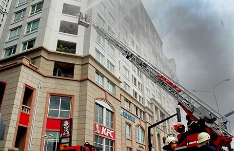 TP.HCM kiến nghị cơ chế đặc thù để hiện đại hóa hoạt động chữa cháy - ảnh 1
