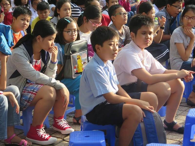 Hơn 4.000 học sinh vào cuộc đua lớp 6 Trường Trần Đại Nghĩa - ảnh 3