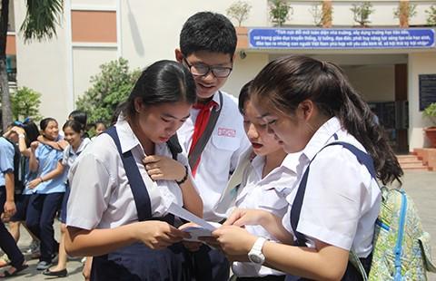 Kết quả thi lớp 10 TPHCM: Dự báo điểm chuẩn cao - ảnh 1