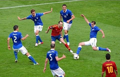 Ý - Tây Ban Nha: Định mệnh! - ảnh 1
